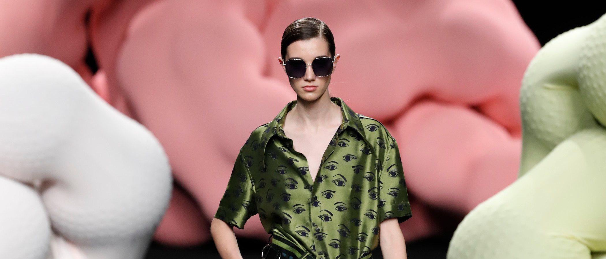Ana Locking apuesta por los contrastes en su colección primavera/verano 2020