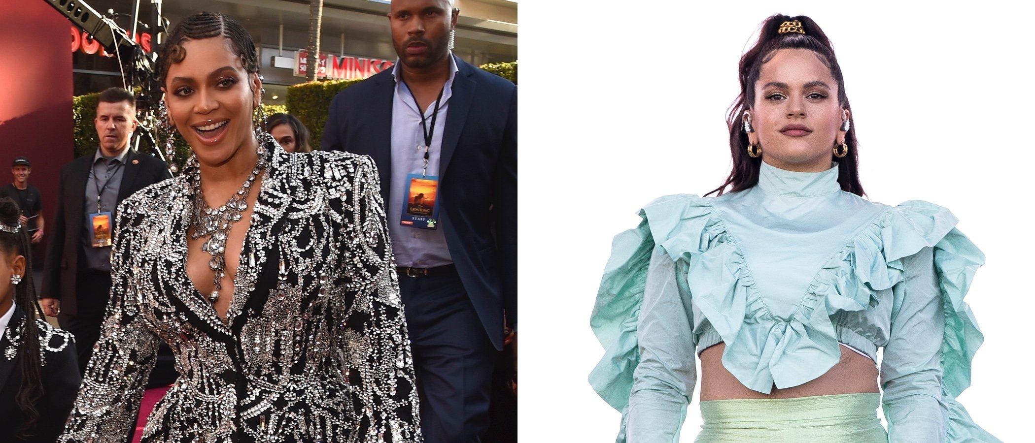 Rosalía y Beyoncé se coronan con los peores looks de la semana