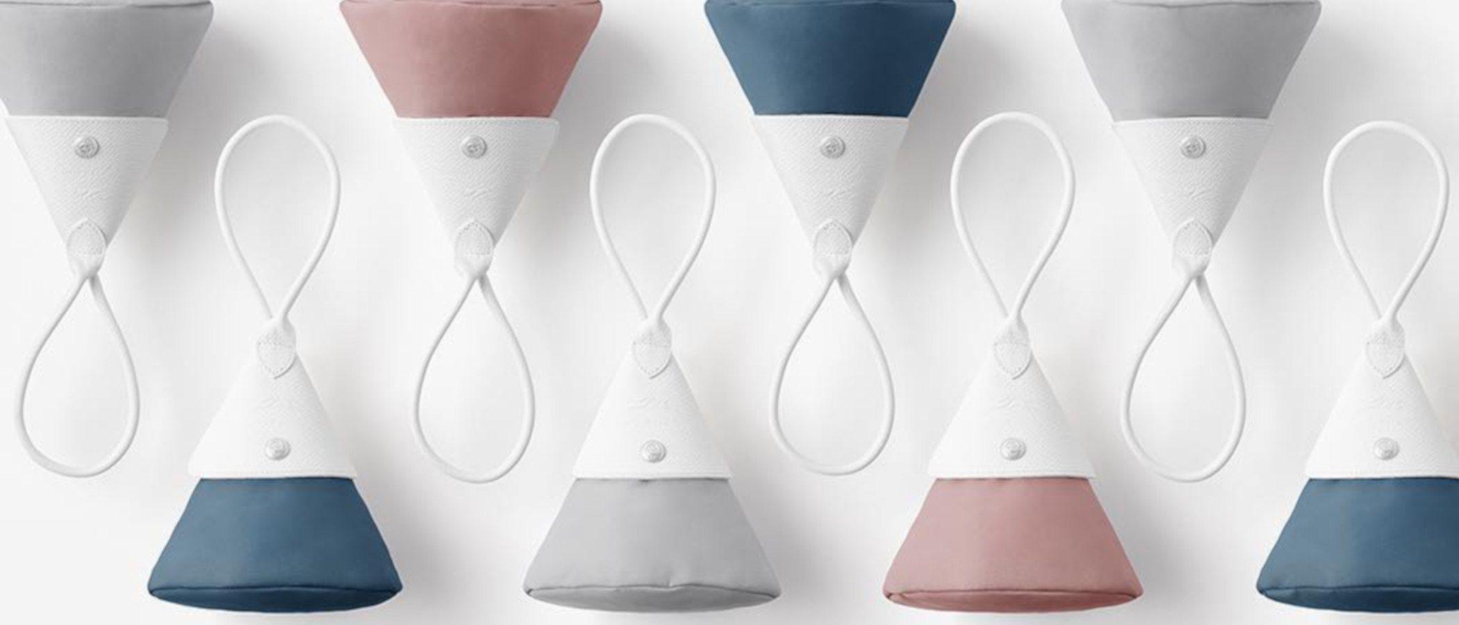 Longchamp reinventa su clásico Le Pliage de la mano de la firma japonesa Nendo