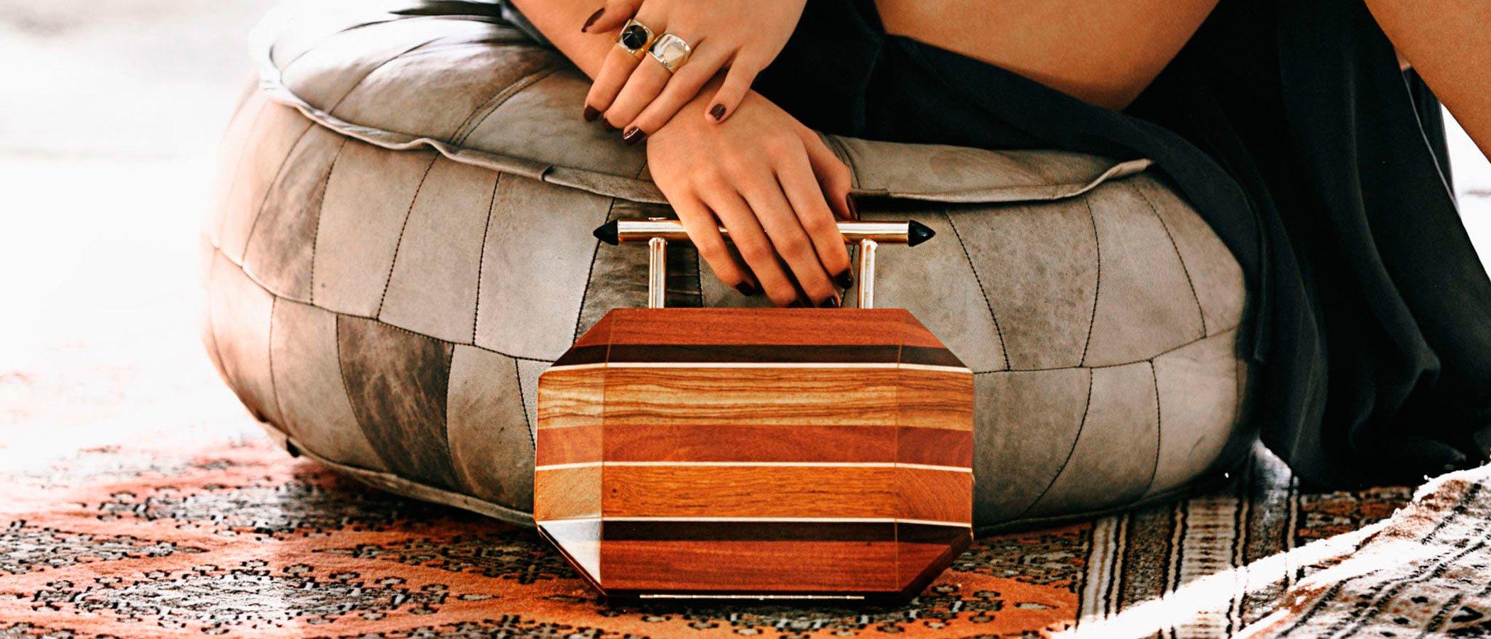 Soüf, la marca de accesorios de lujo hechos con madera reciclada que te encantará