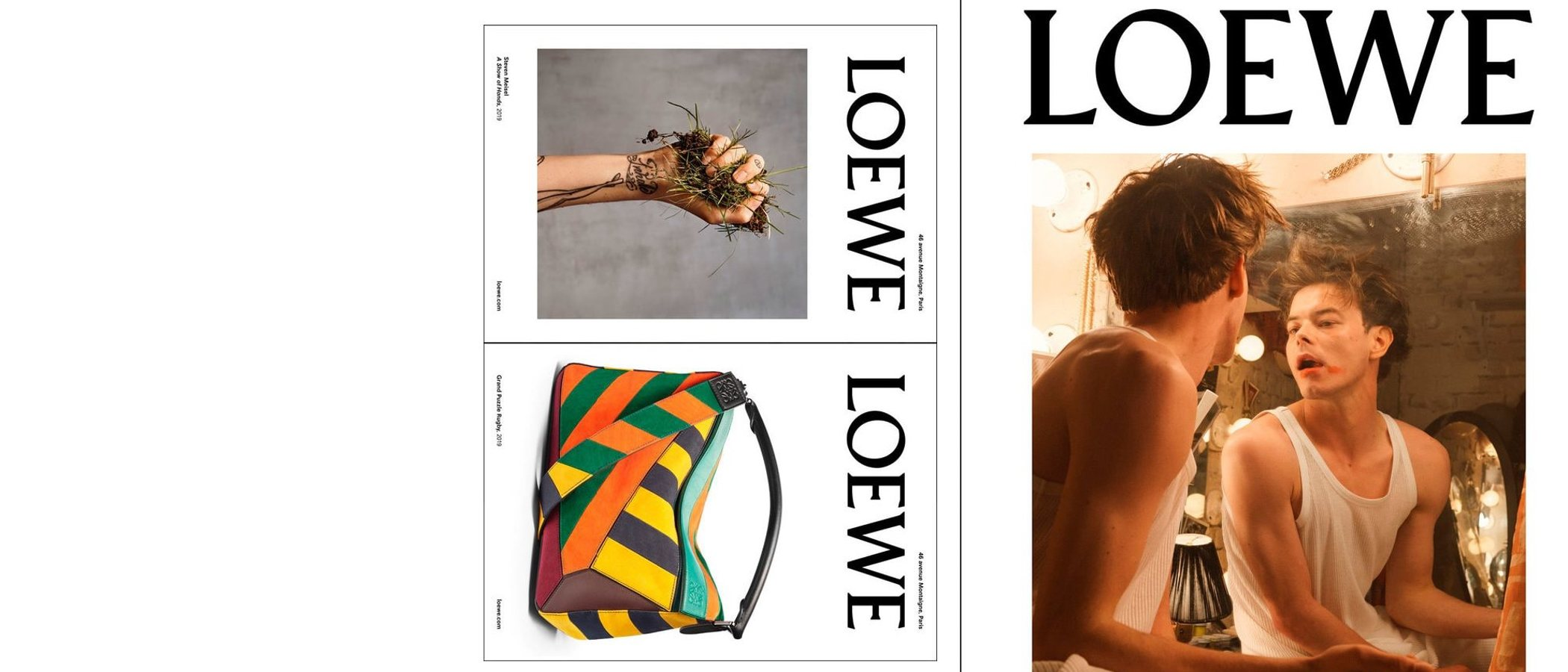 Loewe sucumbe al atractivo de Stranger Things para primavera 2020