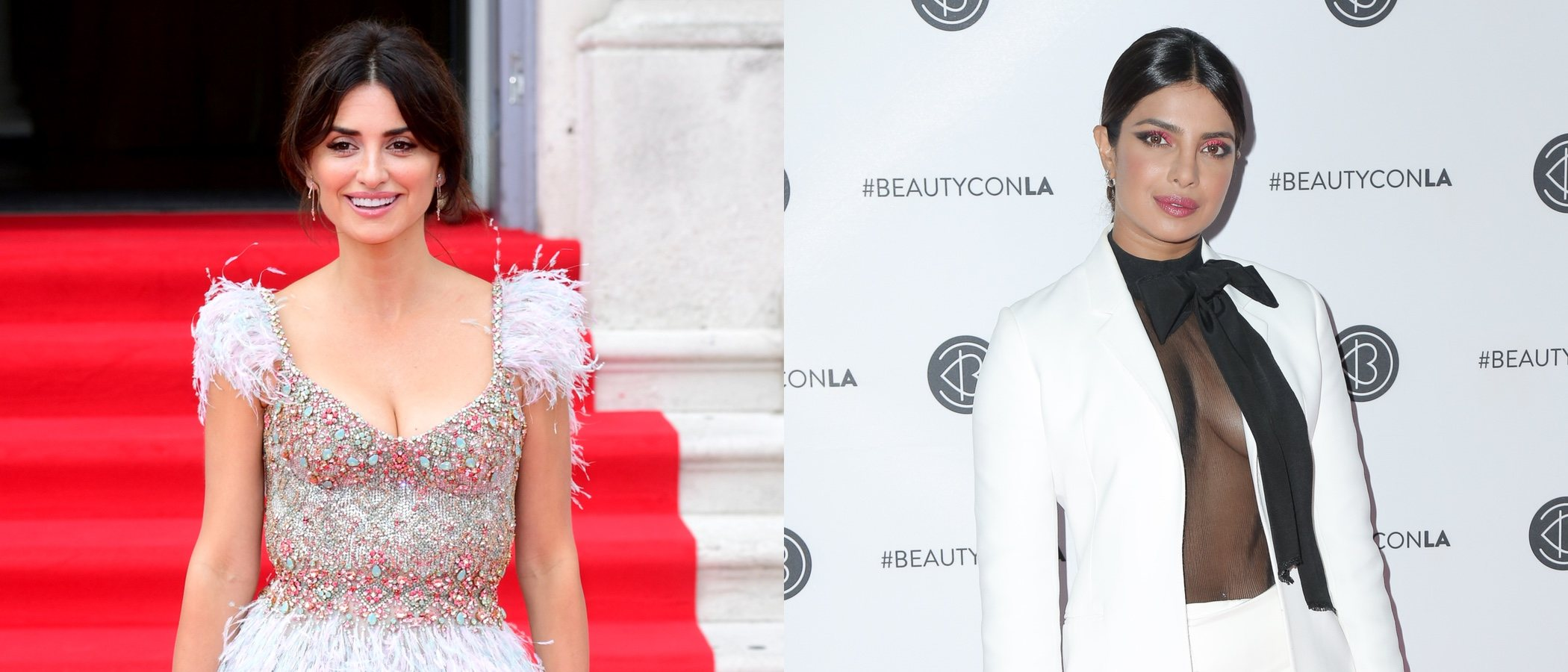 Priyanka Chopra y Penélope Cruz se convierten en las mejor vestidas de la semana