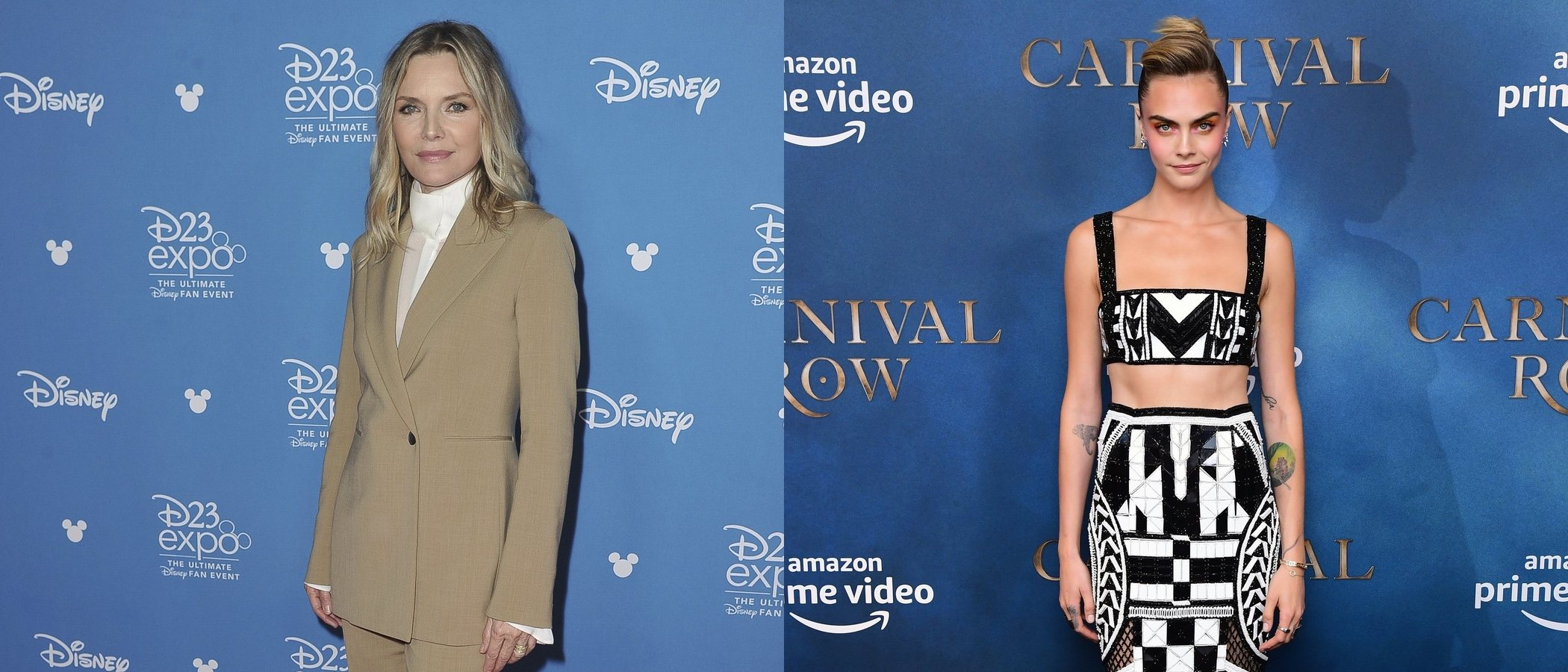 Cara Delevingne y Michelle Pfeiffer se coronan con los mejores looks de la semana