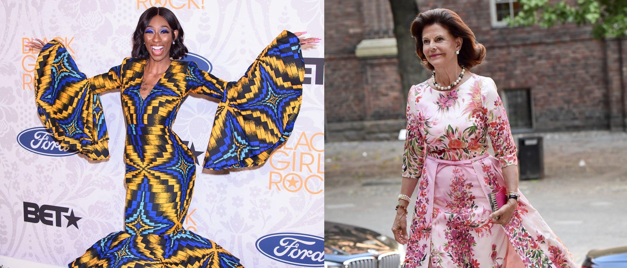 Lala Milan y la Reina Silvia de Suecia se coronan con los peores looks de la semana
