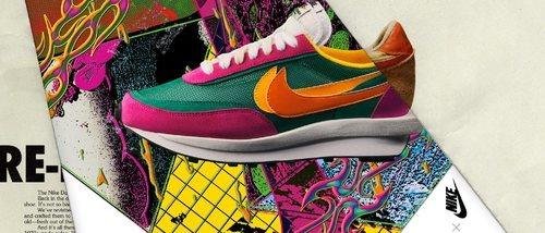 Sacai da la vuelta a las prendas de Nike en su nueva colaboración