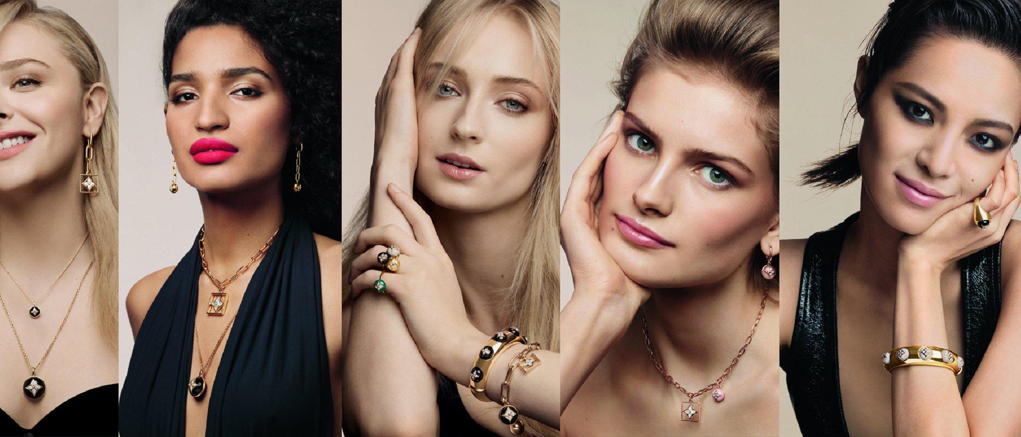 Louis Vuitton tiene a las cinco mujeres perfectas para su nueva colección de joyas de 2019
