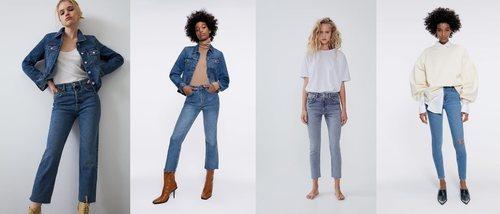 ZARA TRF crea una línea completa de denim a base de tejido reciclado de prendas de sus clientes