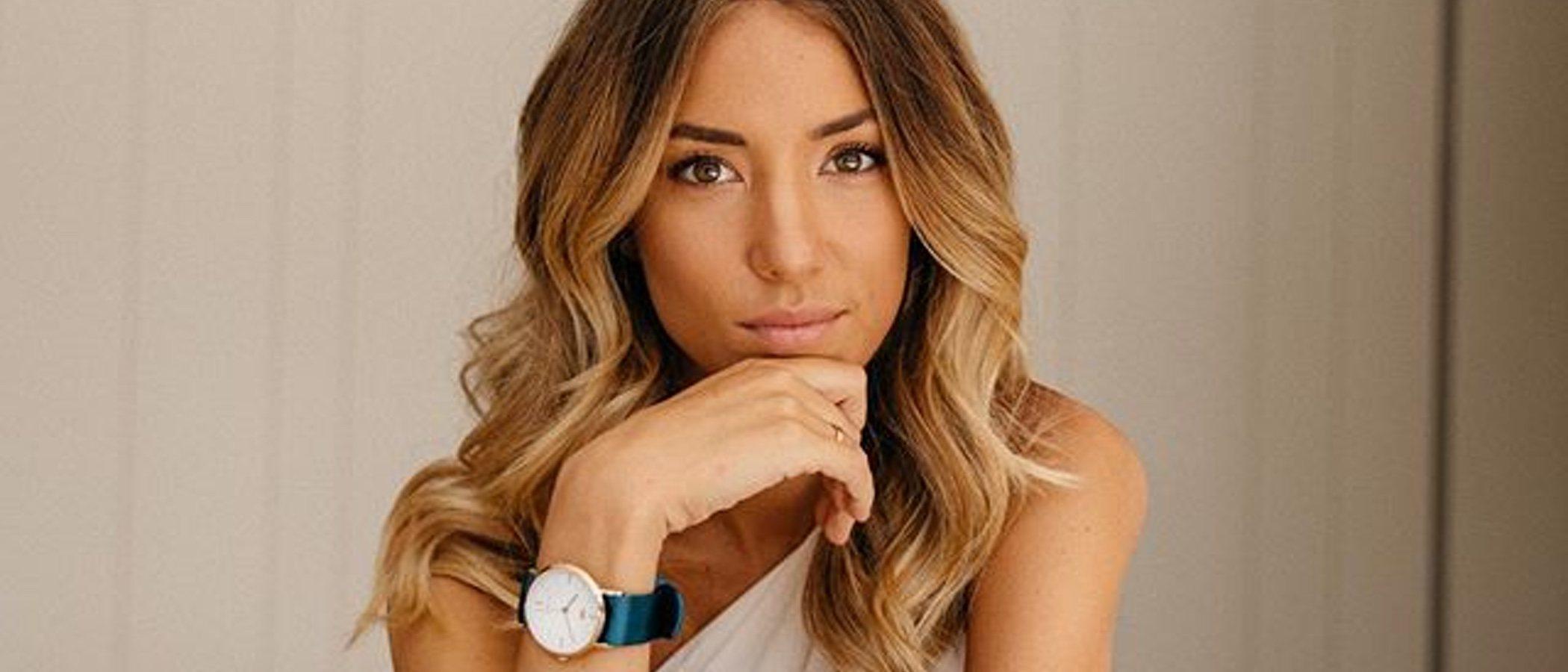 Alice Campello pone toda su esencia en la nueva colección de Button Watches