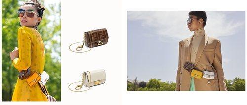 Fendi lanza el Nano Baguette, su versión más reducida del accesorio estrella de la casa