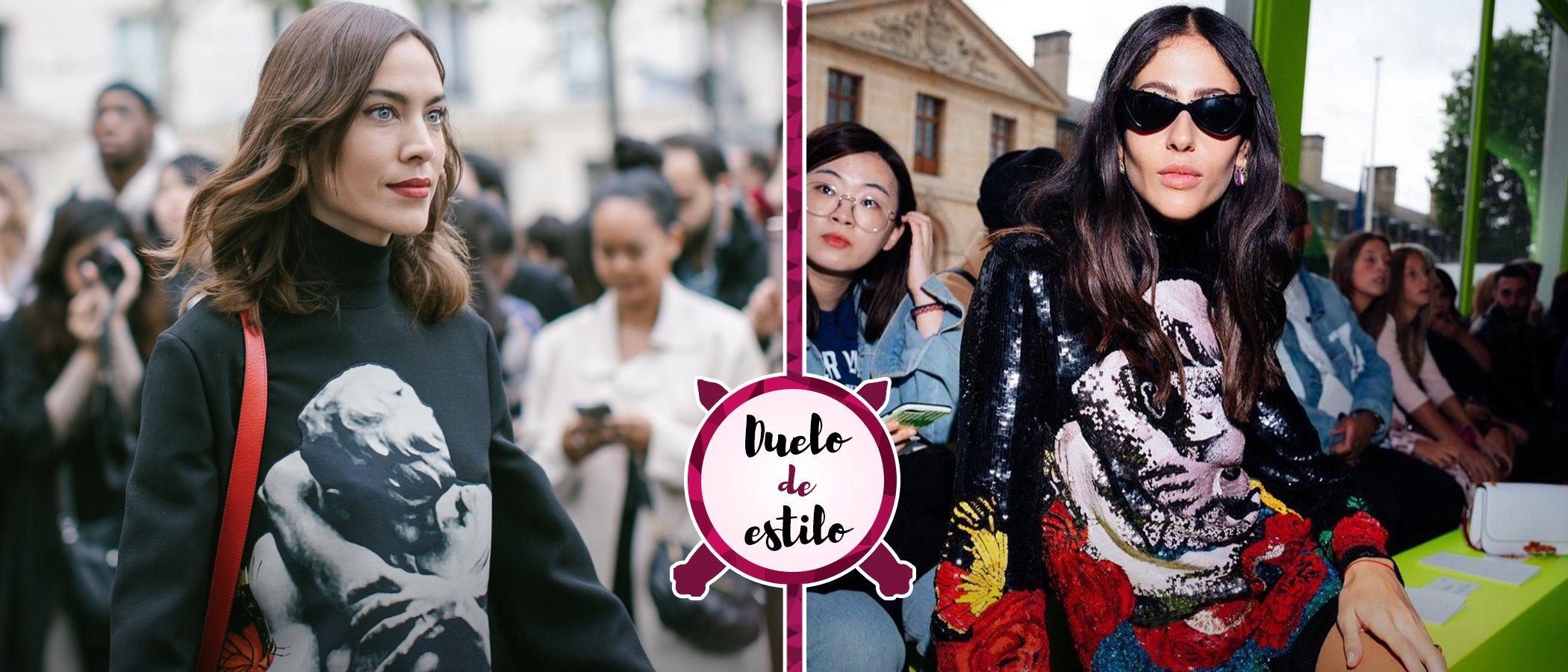 Alexa Chung, Gilda Ambrosio y las dos versiones de un mismo Valentino