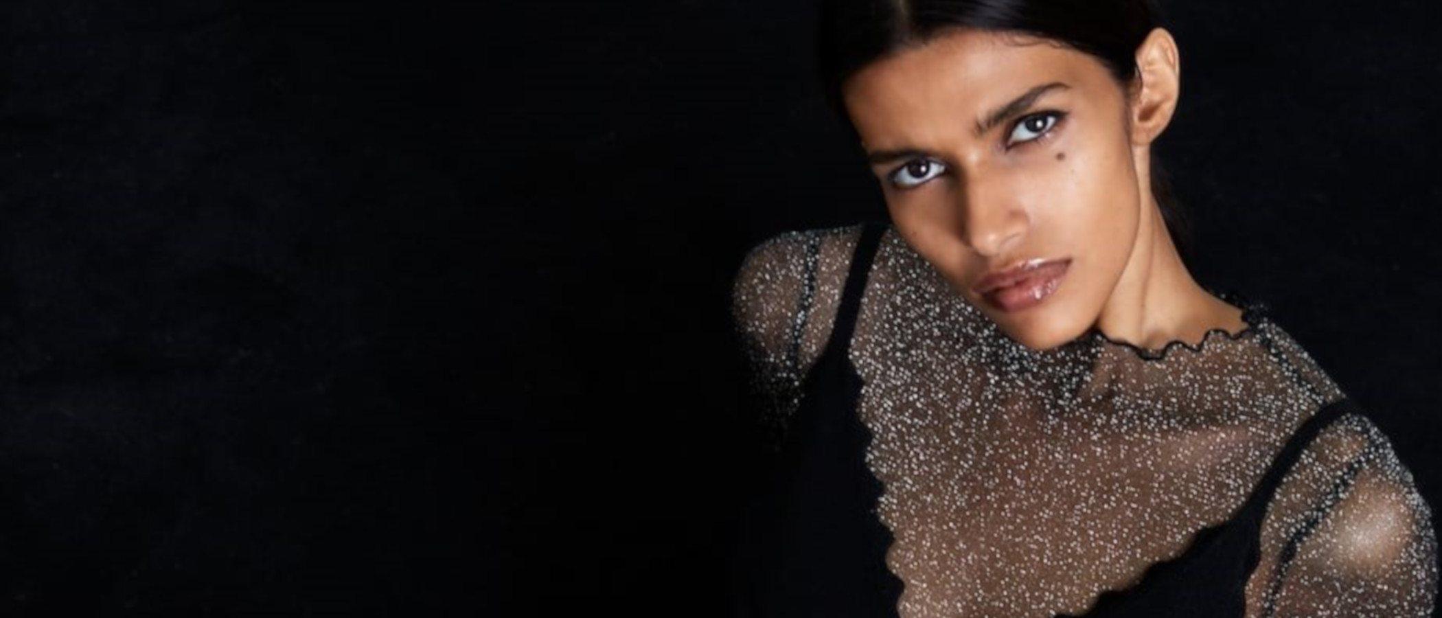 Zara se rinde a las lentejuelas y transparencias en su nueva colección de fiesta