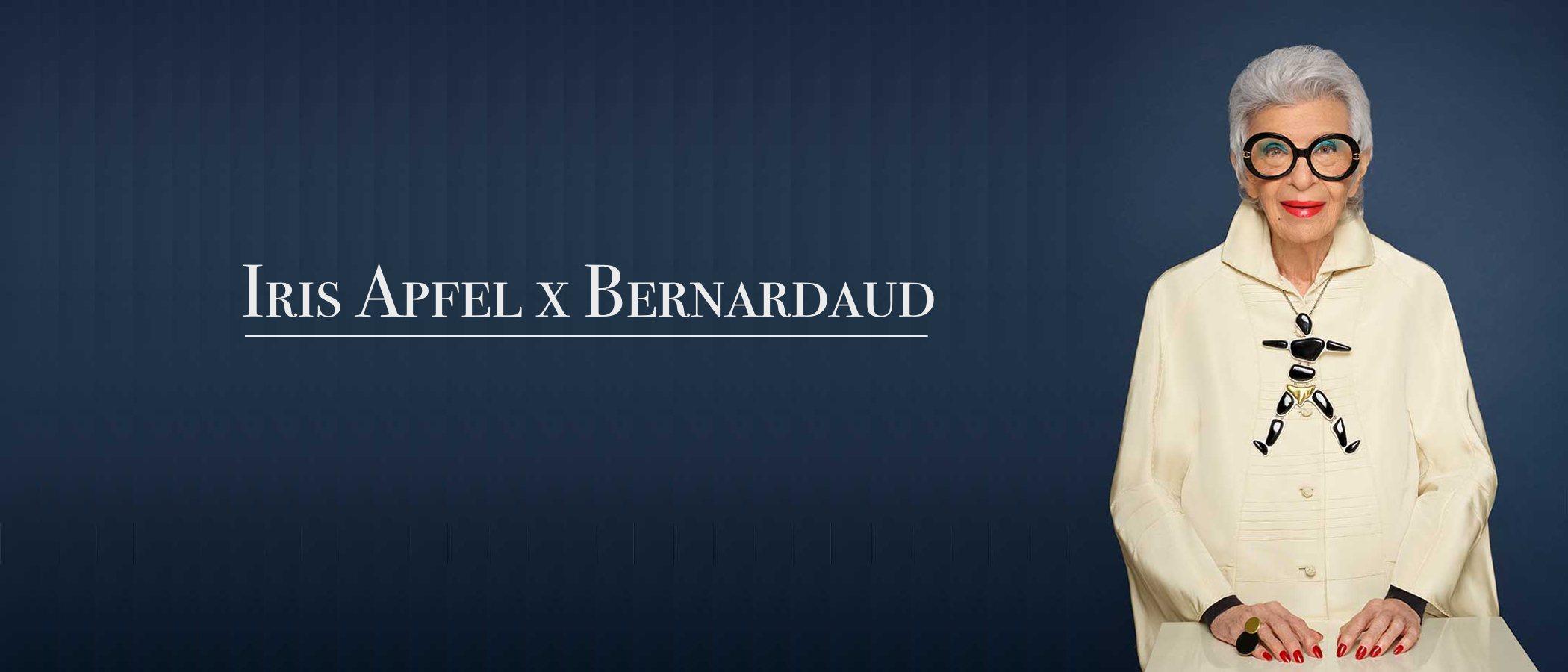 Iris Apfel se sube al carro del diseño con una colaboración con la lujosa empresa de porcelana Bernardaud