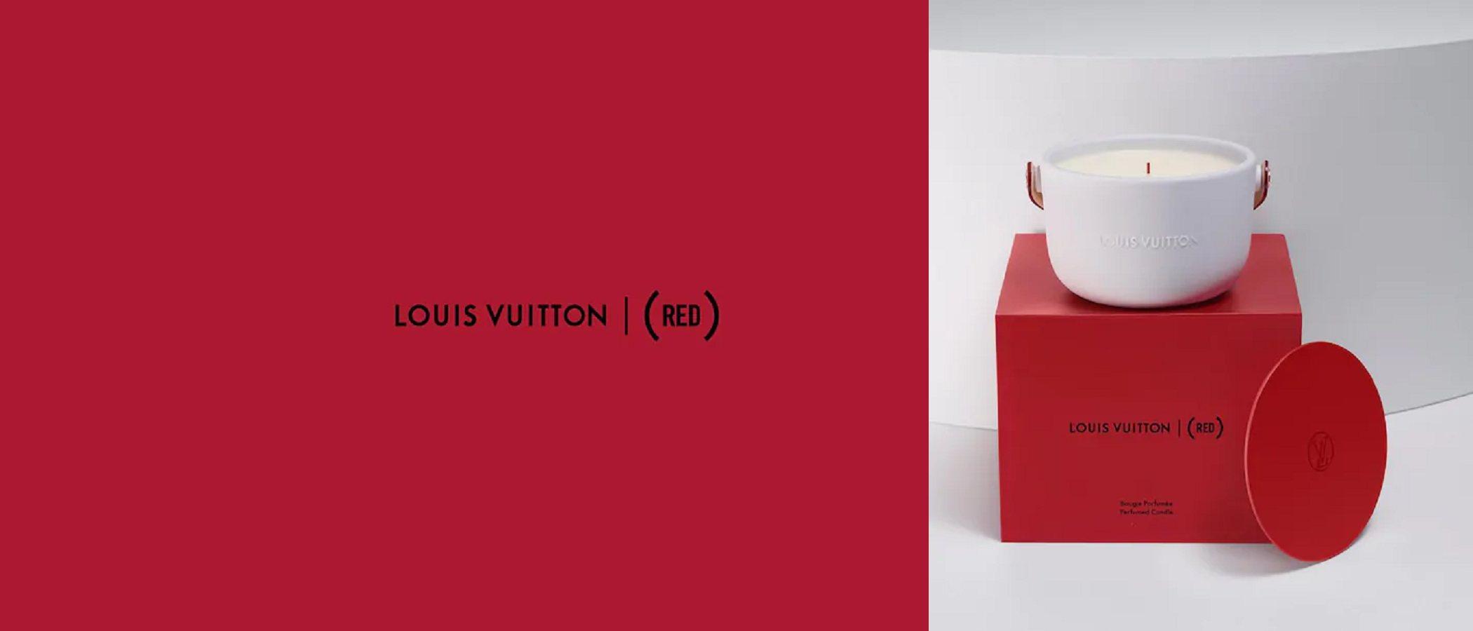 La vela aromática que Louis Vuitton ha creado contra el SIDA