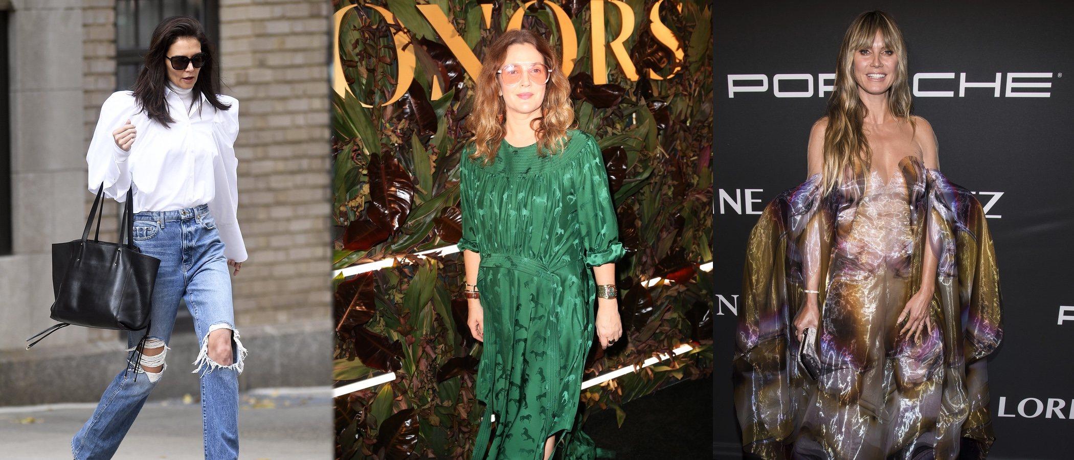Katie Holmes, Heidi Klum y Drew Barrymore entre los peores looks de esta semana