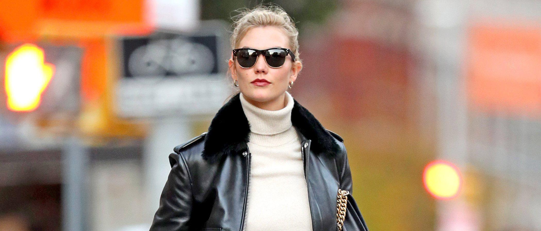 Karlie Kloss luce la cazadora que causa furor, ¿te atreves con su estilismo convertido en low cost?