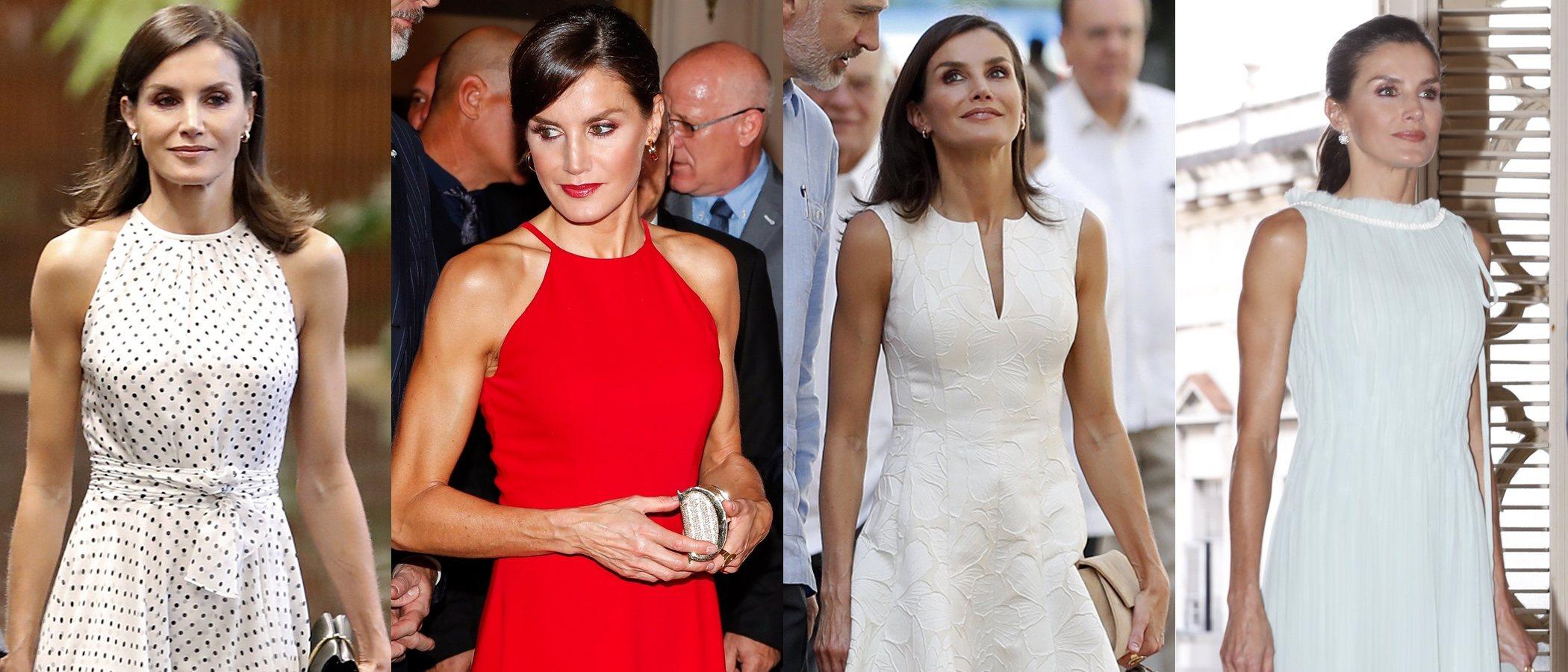 Así fueron todos los looks de la Reina Letizia durante su Visita de Estado a Cuba