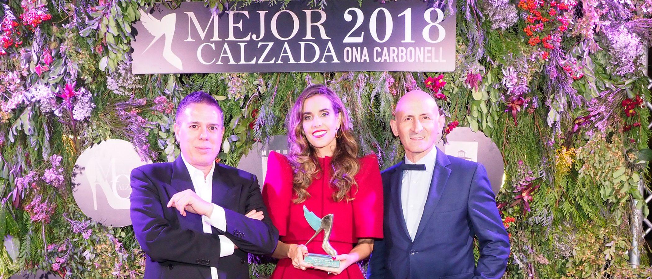 Ona Carbonell, galardonada como la mujer Mejor Calzada de España en 2018
