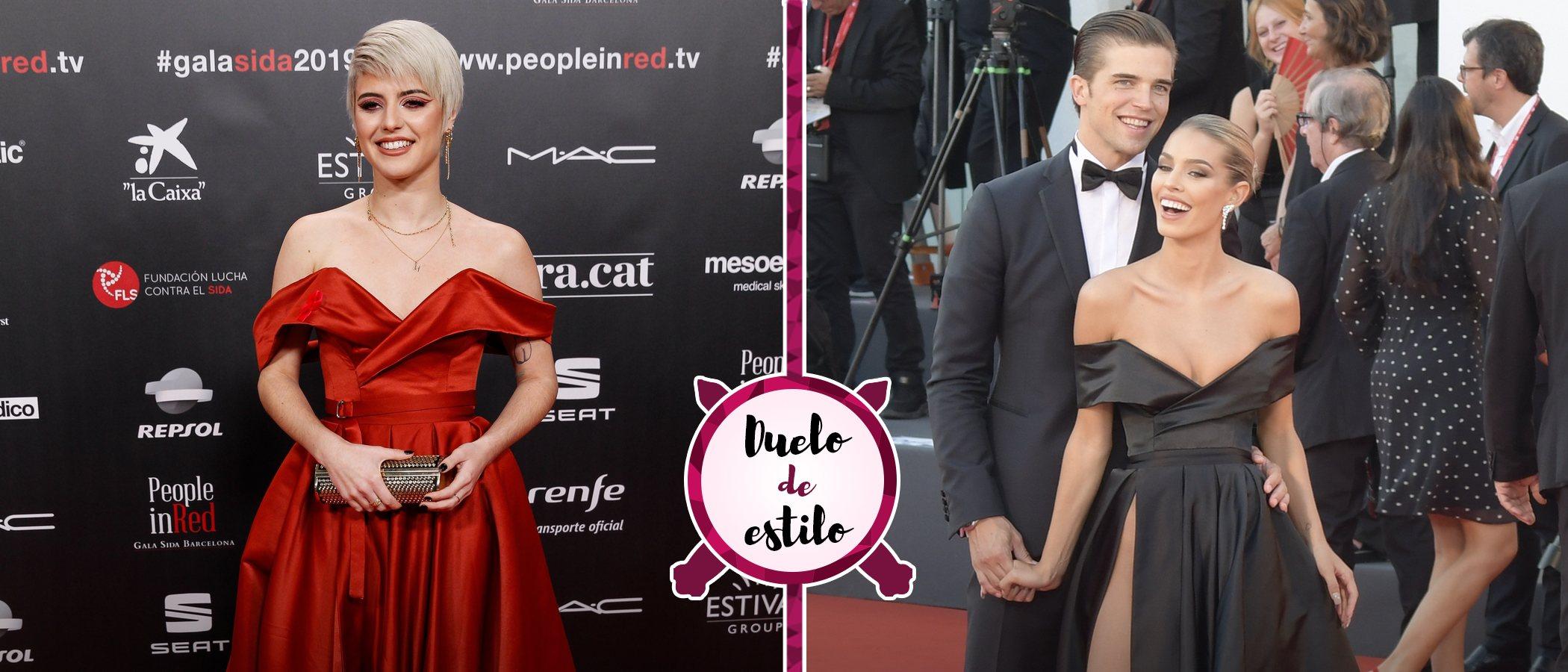 Alba Reche de rojo, Jessica Goicoechea de negro: así es el vestido de princesa favorito de las alfombras rojas