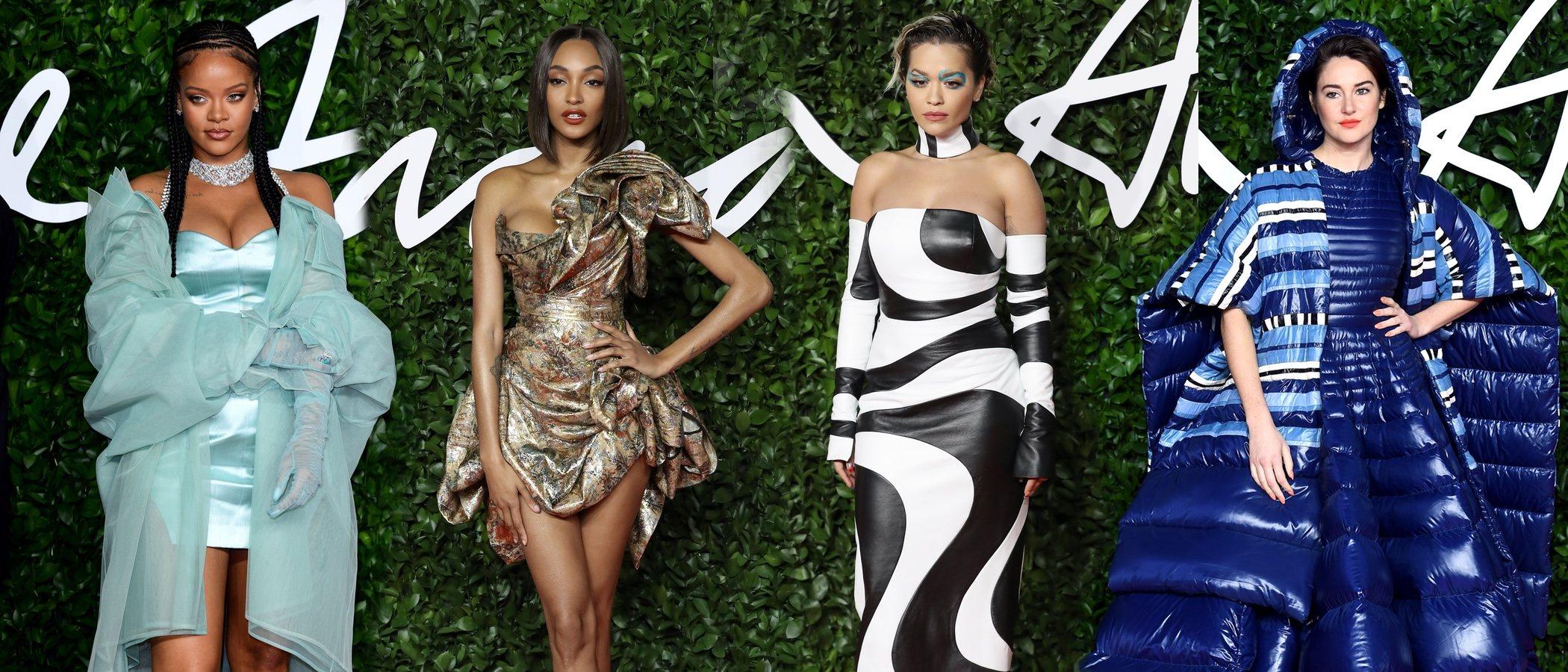 De Rihanna a Rita Ora: entre las mejor y peor vestidas de los British Fashion Awards 2019