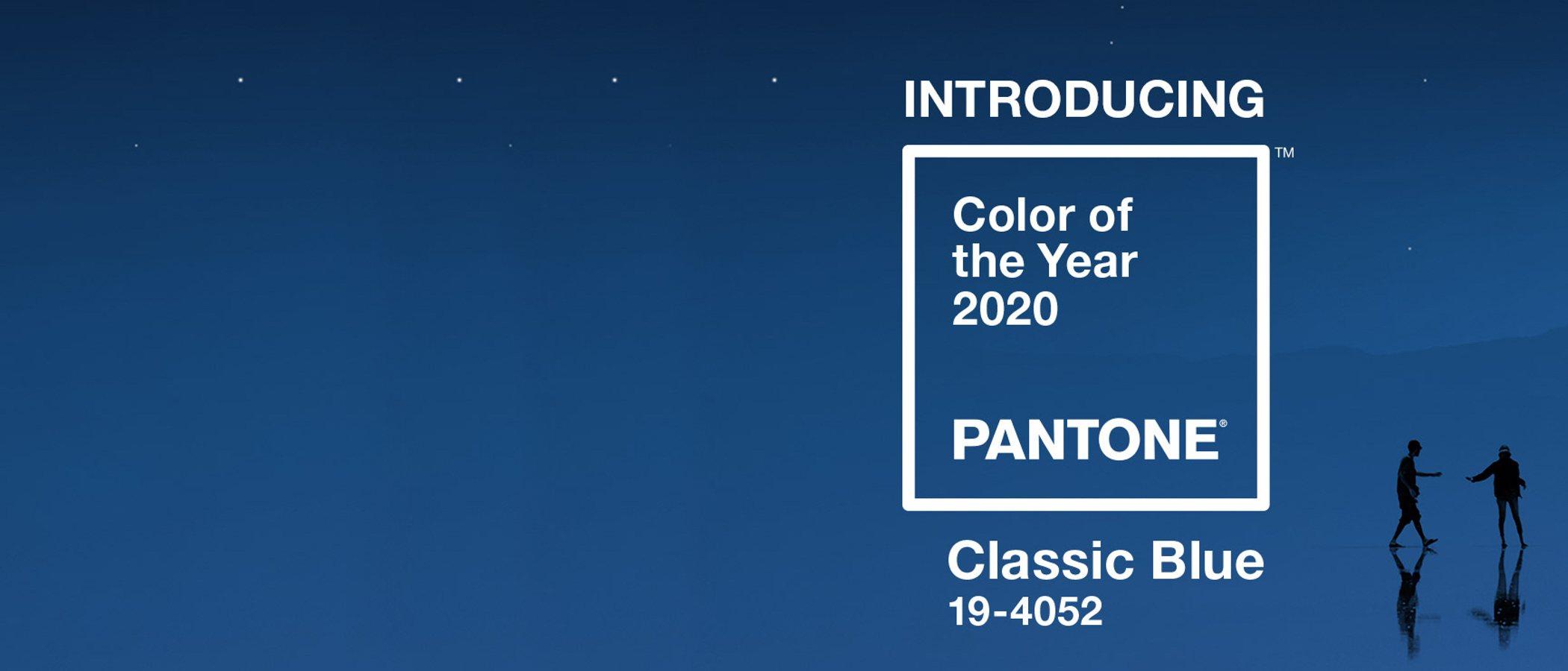 Classic Blue: el color del año 2020 según Pantone