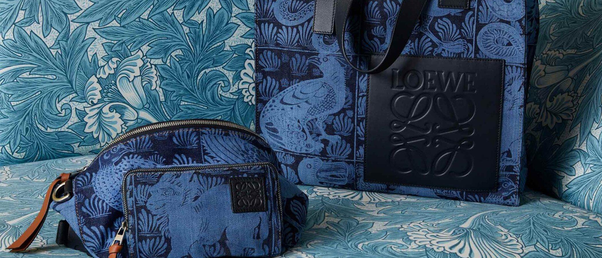 Loewe reinterpreta el imaginario y la cerámica de William de Morgan en su nueva colección cápsula