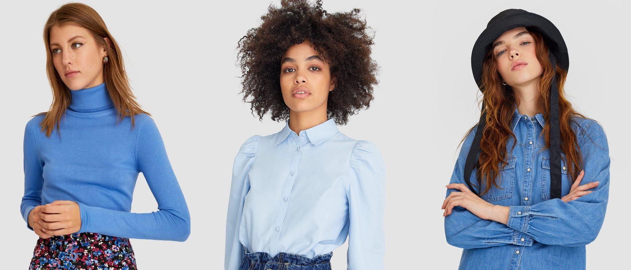 Shades of blue: Stradivarius bautiza el azul como el color de la temporada