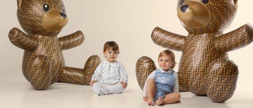 Fendi presenta su colección infantil más entrañable