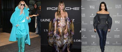 Céline Dion, Heidi Klum o Kim Kardashian, entre las peor vestidas del año 2019
