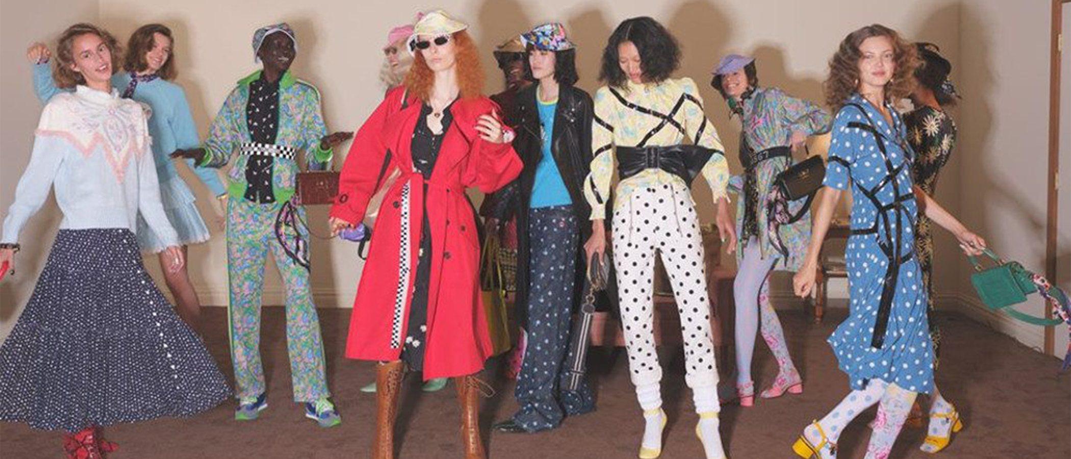 Marc Jacobs presenta su colección Resort 2020 más perruna y con marcados aires ochenteros
