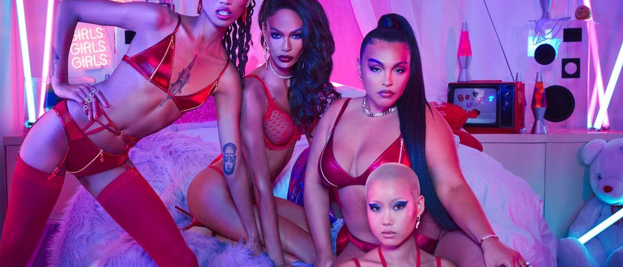 Rihanna y Adam Selman colaboran en la colección de lencería más codiciada de San Valentín 2020