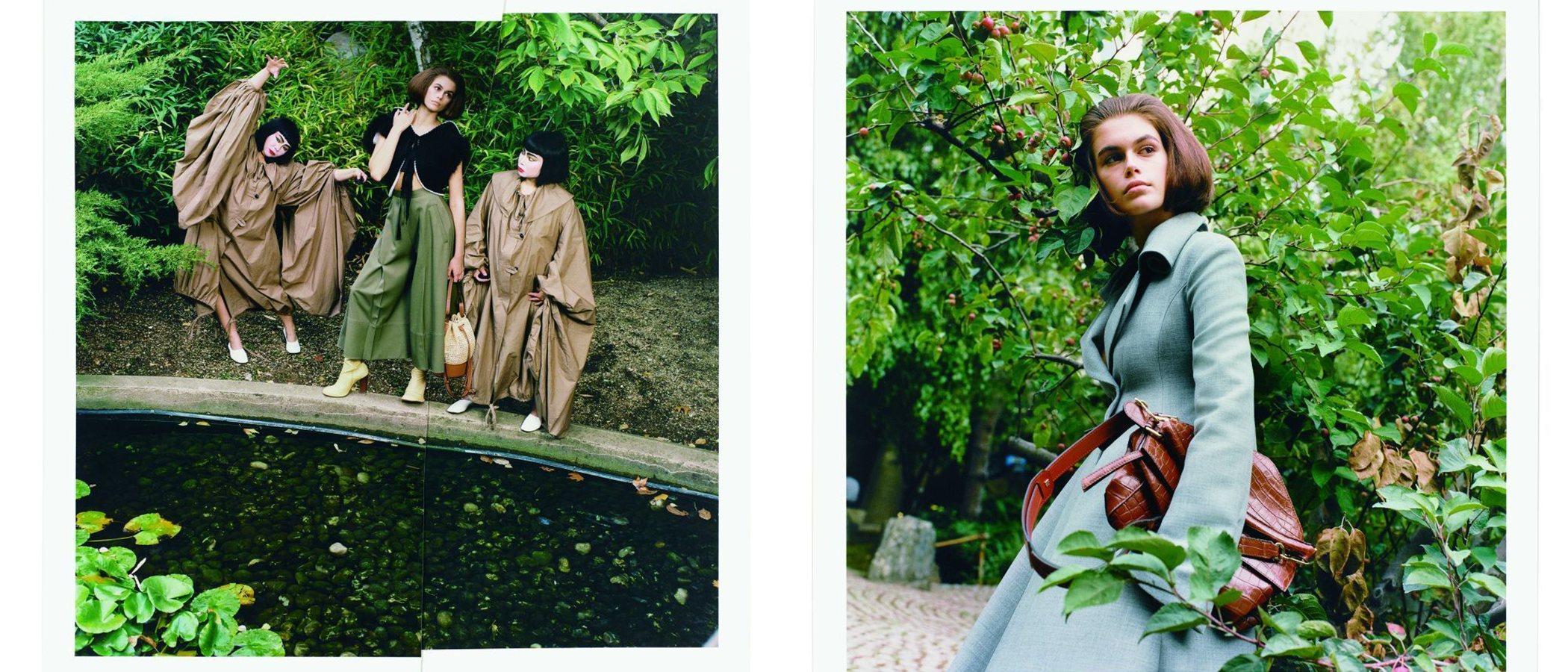 'Kabuki with Noguchi': Loewe se adelanta a las tendencias de esta primavera/ verano 2020 con Kaia Gerber