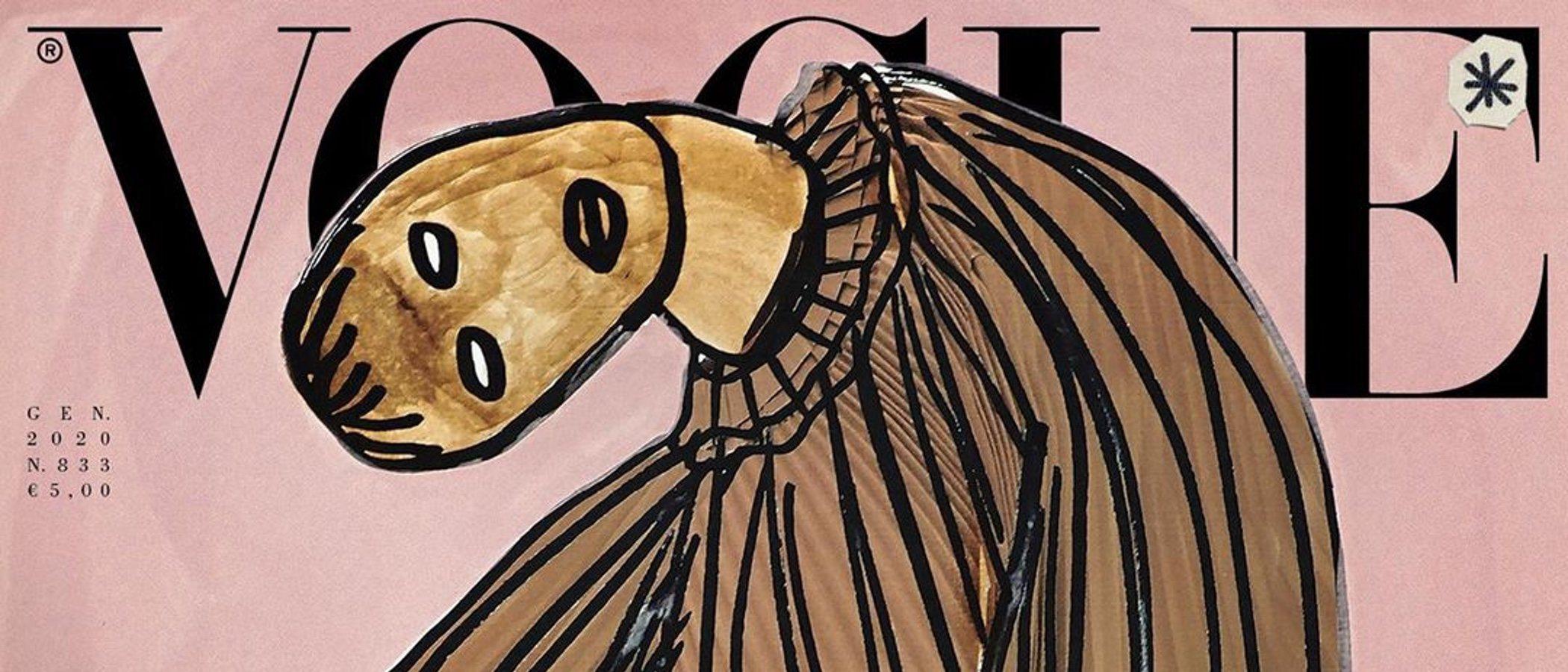 Vogue Italia no tendrá modelos en su portada por una buena causa