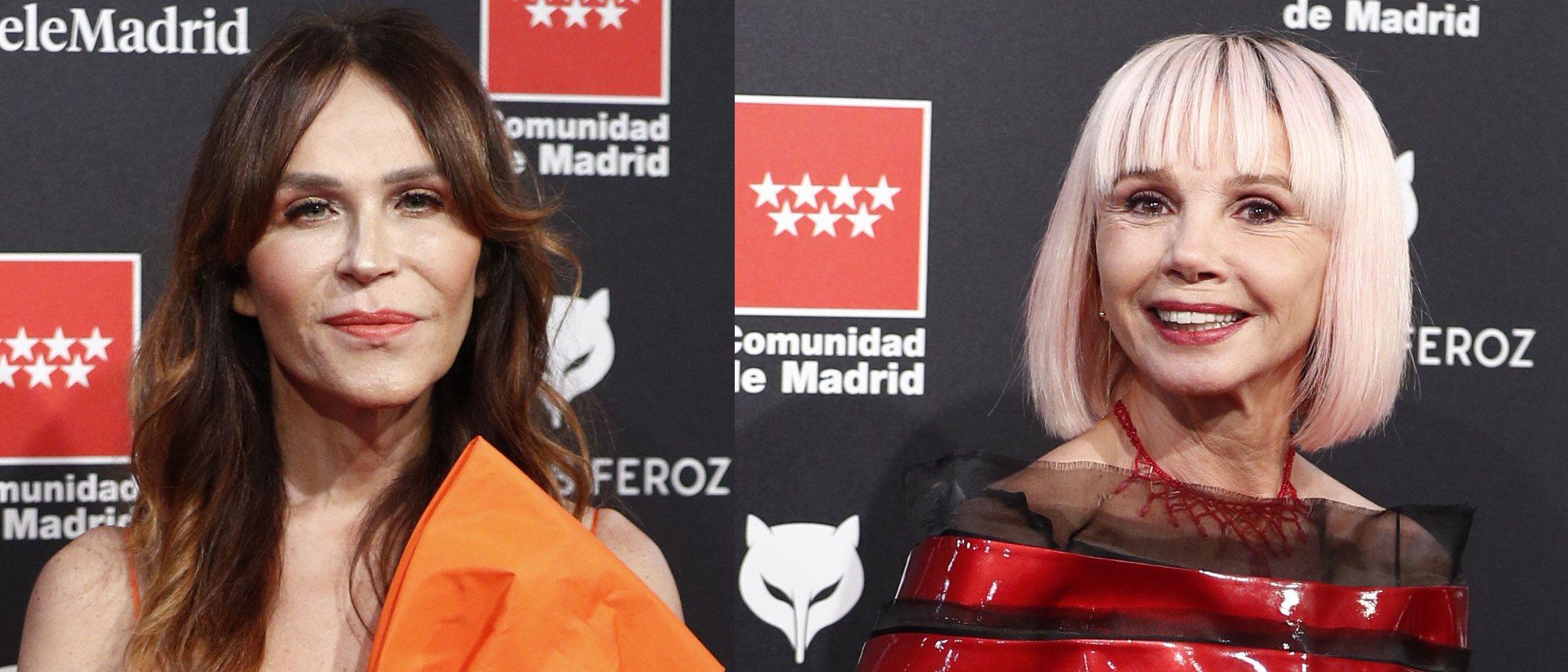 Antonia San Juan y Victoria Abril entre las peor vestidas de los Premios Feroz 2020