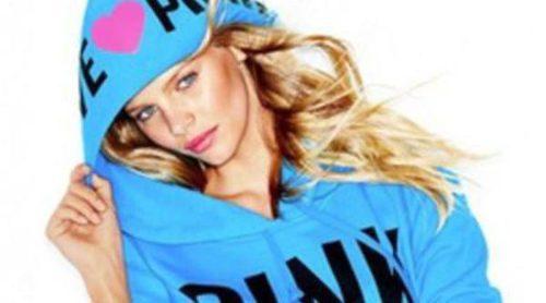 Marloes Horst se muestra coqueta y fresca en la colección 'Pink' de Victoria's Secret