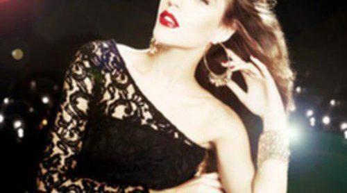 Clara Alonso, imagen de Blanco para su colección 'Night'