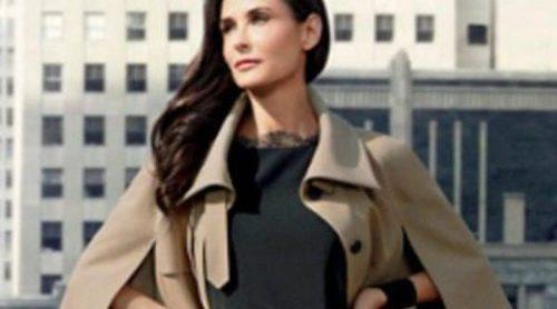 Demi Moore, elegancia madura para Ann Taylor