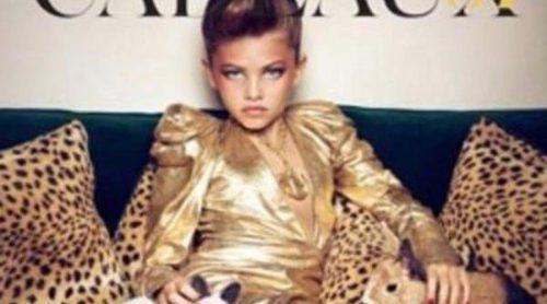 Thylane Loubry Blondeau: Niña de 10 años y seductora modelo de Vogue Francia