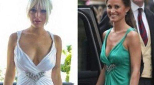 Lindsay Lohan y Pippa Middleton van de boda con Temperley, ¿a quién le queda mejor?