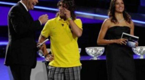 Carles Puyol se salta el dress code en la Gala de la UEFA