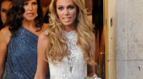 Petra Ecclestone se viste de blanco en la fiesta previa a su enlace