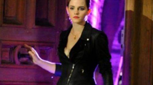 Emma Watson saca su lado más chic en el spot de Trésor Midnight Rose de Lancôme