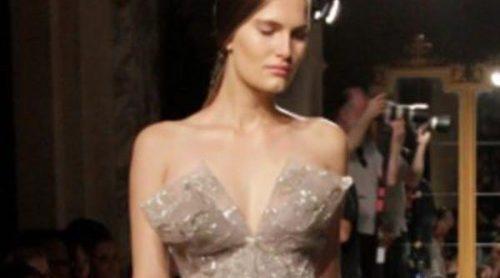 Marchesa descubre los vestidos más suntuosos de la primavera de 2012