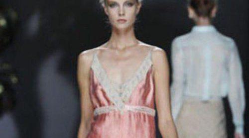 Aires románticos e inspiración lencera en lo nuevo de Ailanto para la primavera 2012