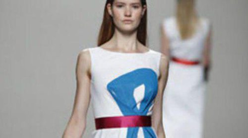 Lemoniez presenta en Cibeles una colección clásica y elegante para la primavera de 2012