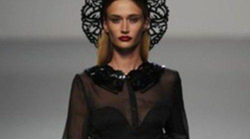 María Escoté se inspira en corazones y la combinación de colores blanco y negro para la primavera 2012