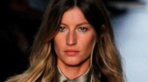 Gisele Bündchen, Karolina Kurkova, Natalia Vodianova y Candice Swanepoel estrellas en la semana de la moda de París