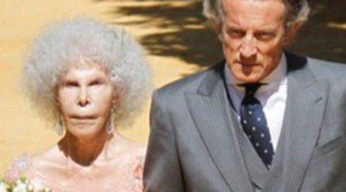 El vestido de boda de la Duquesa de Alba: romántico y con encaje