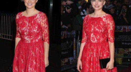 Cecilia Ahern y Michelle Williams lucen el mismo vestido