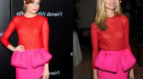 Un conjunto de Giambattista Valli enamora a Emma Stone y Lauren Santo Domingo