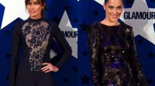 Nieves Álvarez y María León deslumbran en los premios Top Glamour 2011